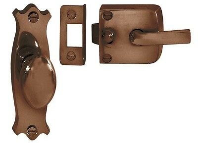 Florentine Bronze Fancy Screen Door Latch Assembly