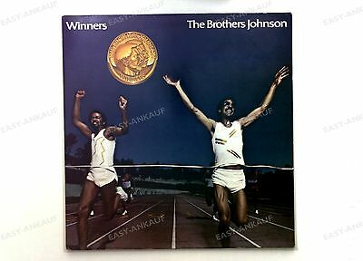 The Brothers Johnson - Winners Europe LP 1981 FOC + Innerbag //3