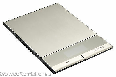 Master Class Electronic Dual Dry & Liquid Slim Platform Kitchen Weighing Scales