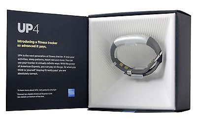 UP4 by Jawbone Heart Rate, Activity + Sleep Tracker with Amex Payments Silver
