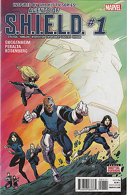 Marvel Comics Agents of S.H.I.E.L.D #1, Near Mint, Never Read!