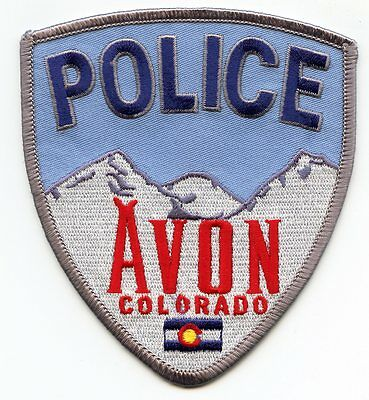 AVON COLORADO CO colorful POLICE PATCH
