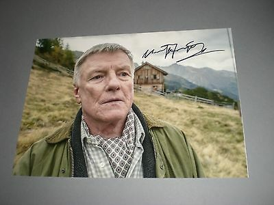 Manfred Zapatka signiert signed autograph Autogramm auf 20x28 Foto in person