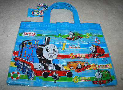JAPAN Thomas the Tank Engine and Friends Plastic Swimming bag with Handle