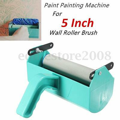 Single Color Decoration Paint Painting Machine for 5'' Inch Wall Roller Brush