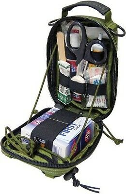 "Maxpedition FR-1 Medical Pouch 0226G Main: 7"" x 5"" x 3"" with full zipper opening"