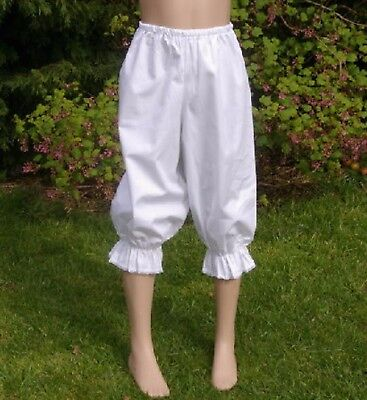 Girls Victorian / Edwardian  BLOOMERS costume fancy dress age 8-10 yrs