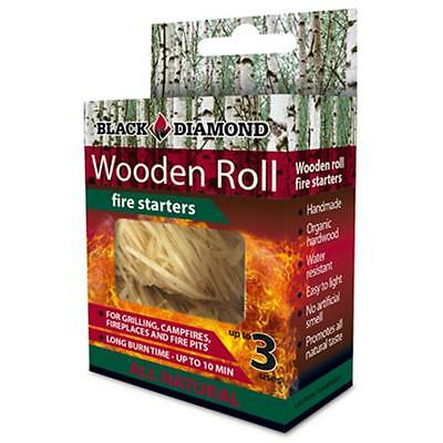 Black Diamond Charwood BDS03 Hardwood Fire Starters, 3 Pack