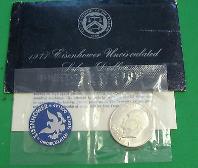 1971-S Eisenhower Uncirculated 40% Silver Dollar Sealed