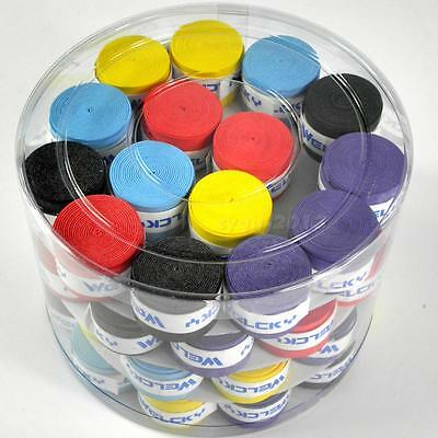 10PCS Absorb-sweat stretchy Tennis Squash Racquet Band Grip Tape Overgrip CGYG