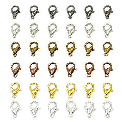 Lobster Claws Clasp Suitable for Necklace Bracelets Jewelry 10mm 12mm 15mm