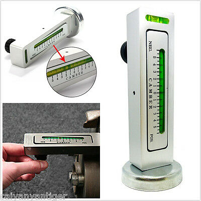 Magnetic Car Auto Camber Castor Strut Wheel Alignment Gauge Measure Garage Tool