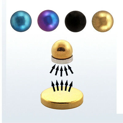 Fake magnetic nose lip monroe labret ear cartilage ring