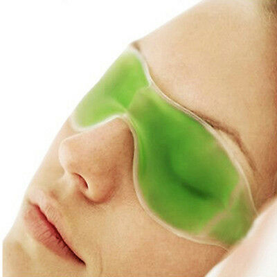 Gel Eye Relaxing Mask Shade Cover Soothing Headache Puffiness Tension Stress Hot