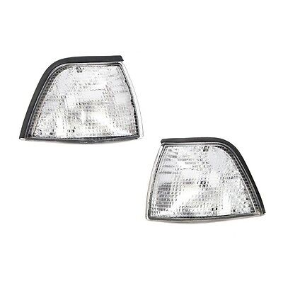 New Euro Clear Corner Lights For 92-98 BMW E36 3-Series 2 Door