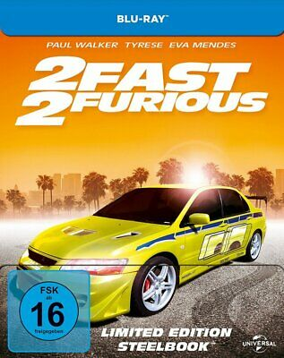 2 Fast 2 Furious - Limited Steelbook Edition # BLU-RAY-NEU (The, and)