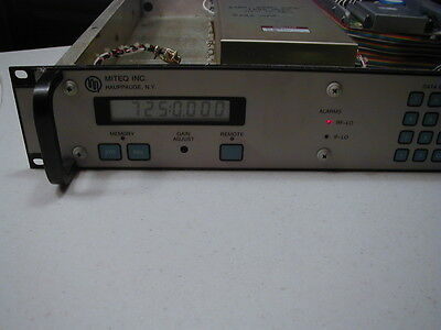REDUCED Microwave Synthesizer, 6.1-6.58 GHz, Tested, Working, DSN/HAM 24GHz?