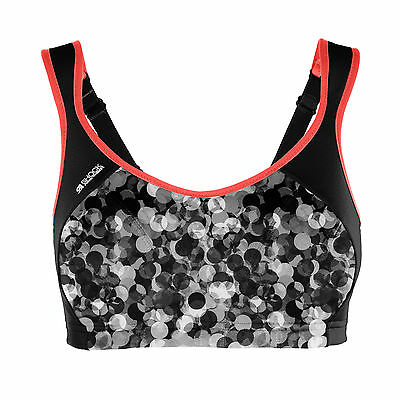 Shock Absorber Active Multi Sports Bra Top S4490 Bubble Print