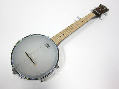 GOLD TONE 5-STRING TRAVEL BANJO w/ GIG BAG ~ PLUCKY BACKPACKER