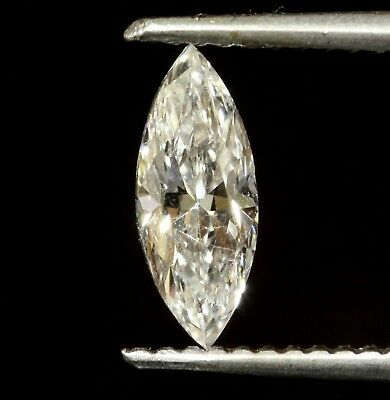 .70ct marquise loose diamond GIA Certified SI2 F 9.58 X 3.79 X 2.95MM vintage