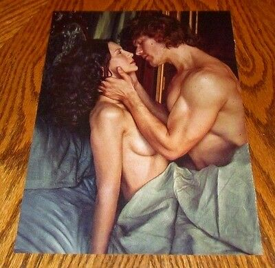 Shirtless JAMIE FRASER 8X10 PINUP Clipping Male Outlander Star Muscular Arm