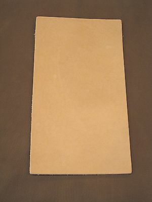 SALE  8-9 oz. Veg Tan Cowhide Tooling Leather for Armor Holsters Moccasin Soles