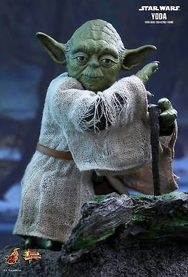 YODA Hot Toys 1/6 Figure (Star Wars The Empire Strikes Back) UK SHIPPED 2017