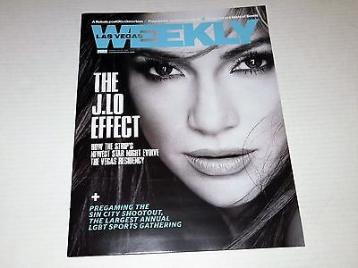 Las Vegas Weekly Magazine January '16 Jennifer Lopez J.Lo Concert Issue