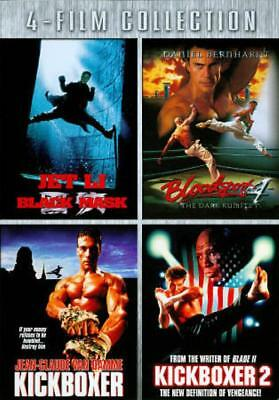 Black Mask/Bloodsport 4/Kickboxer/Kickboxer 2 New Dvd