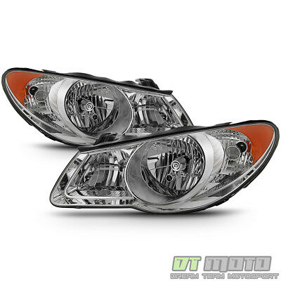 For 2007-2010 Elantra Headlights Headlamps Replacement 07 08 09 10 Left+Right