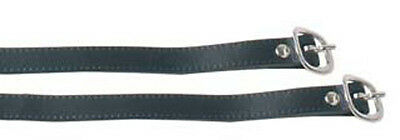 Spores Spur straps Leather black ARBO-INOX