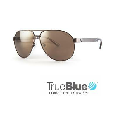 Sundog Golf Uptown TrueBlue Sunglasses (Coffee / Brown Gold)