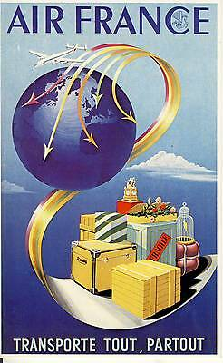 Carte Postale / Postcard / Aviation / Illustrateur Dehedin / Air France