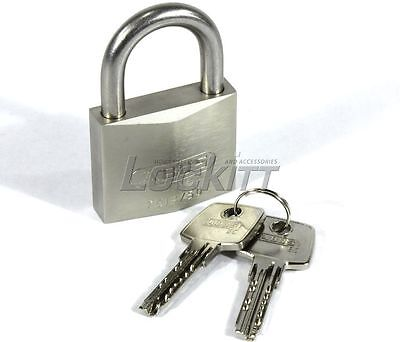 ABUS KEYED ALIKE 75IB/50 All Weather Marine Padlock - Brass and Stainless Steel