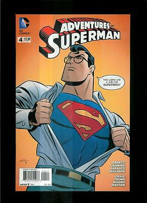 Adventures Of Superman # 4 (DC 2013 VF / NM) Combined Shipping!
