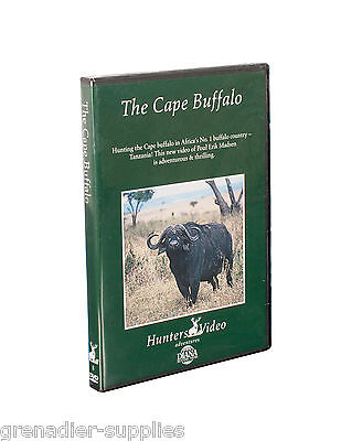 The Cape Buffalo Hunters Video Hunting Dvd