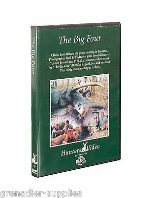 The Big Four Hunters Video Hunting Dvd