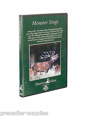 Monster Stags Hunters Video Hunting Dvd