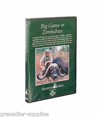 Big Game In Zimbabwe Hunters Video Hunting Dvd
