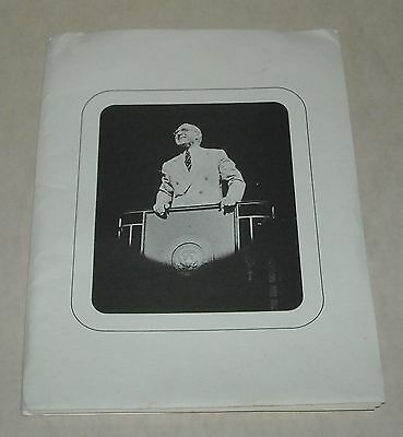 1975 JAMES WHITMORE in GIVE 'EM HELL, HARRY (TRUMAN) with PHOTOS & PR in FOLDER