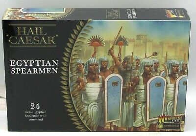 Hail Caesar WGH-CEM-05 Egyptian Spearmen (24) 28mm Miniatures Infantry Warriors