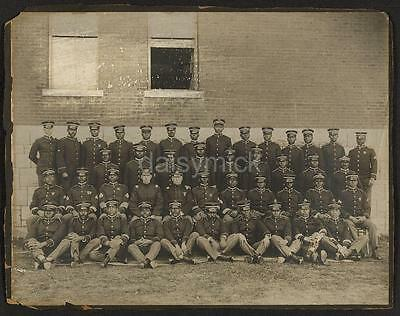 US Army 1900 24th Infantry Black Soldiers Officers Comp 1 6x5 Inch Reprint Photo