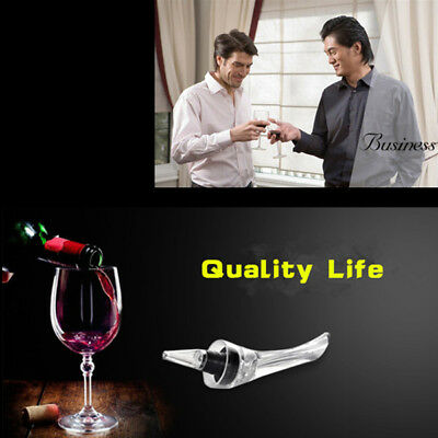 New White Red Wine Aerator Pour Spout Bottle Stopper Decanter Pourer Aerating