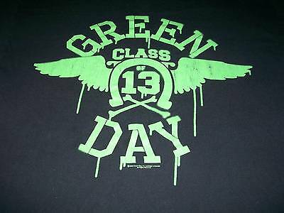 Green Day XL Extra Large Black T-shirt Class of '13