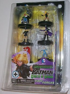 "BATMAN: STREETS OF GOTHAM ""BIRDS OF PREY"" FAST FORCES PACK DC HeroClix"