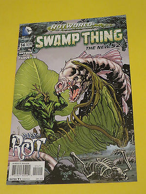 2013 Swamp Thing #14  Paquette New 52 Dc Comics 9.0Vfnm Rot World