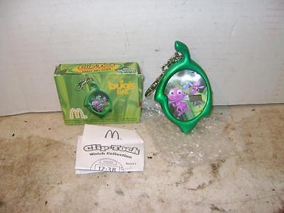 New in Box 1998 McDonald's Disney Pixar A Bug's Life Clip Tock Watch