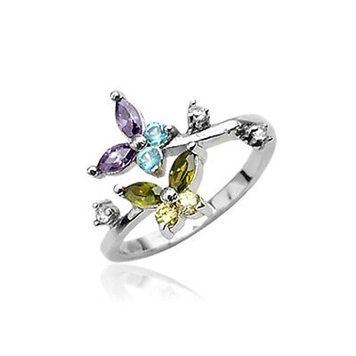 925 Sterling Silver Toe Ring Toe Rings Butterfly