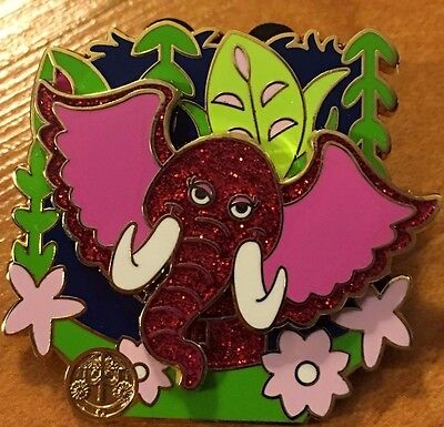 it's a small world 50th mystery pin ELEPHANT Limited Release Disney 50 DLR