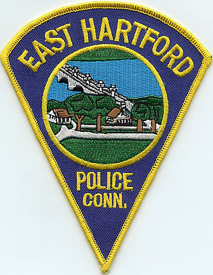 East Hartford Connecticut Ct Police Patch